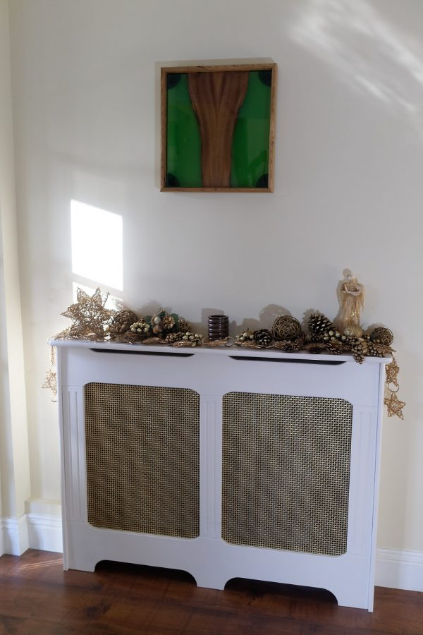 Elm and Green Resin Wall Art